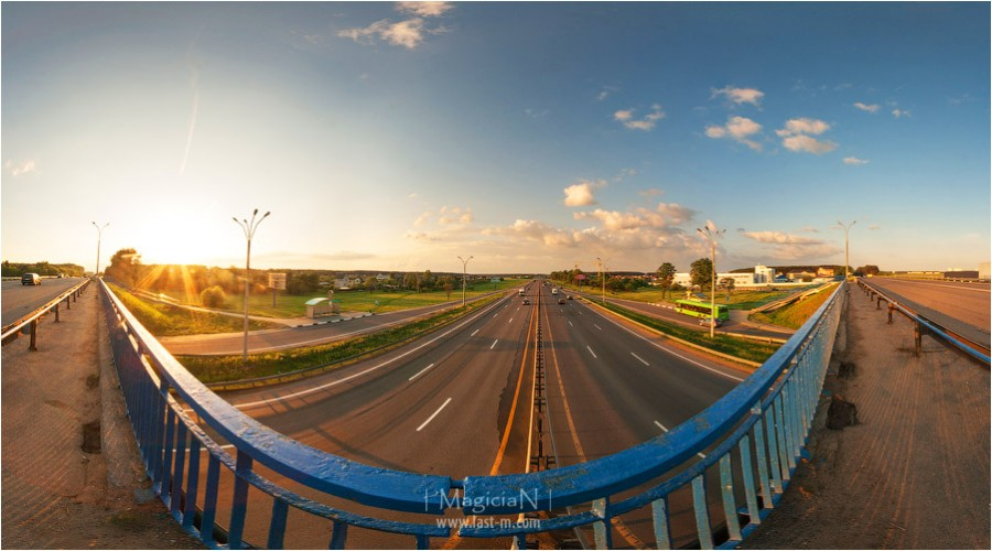 Мост через Логойское шоссе