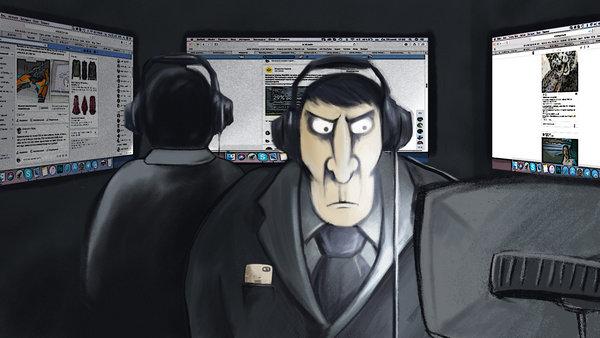 Интернет! ФСБ всегда следит за тобой!