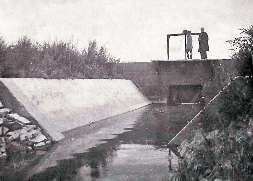 головное сооружение на катастрофическом сбросном канале, отходящего от Руб маг канала на пикете № 80.jpg