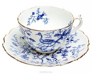 chaynaya-para-blue-cairo-farfor-dekol-zolochenie-coalport-velikobritaniya-1948-god-id352835