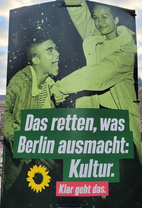 Das retten, was Berlin ausmacht: Kultur