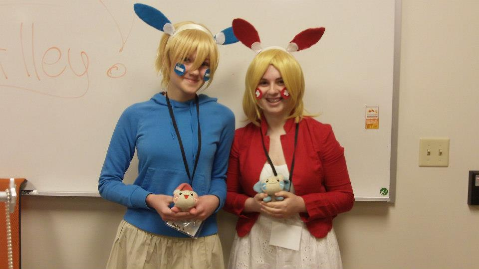 plusle and minun cosplay