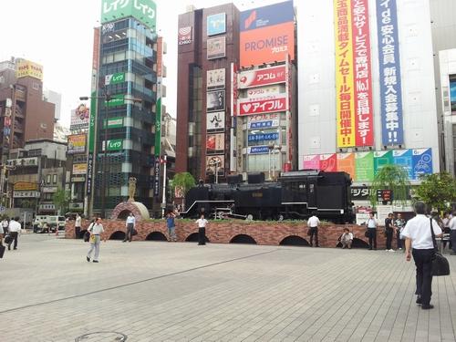 shinbashi shiodome