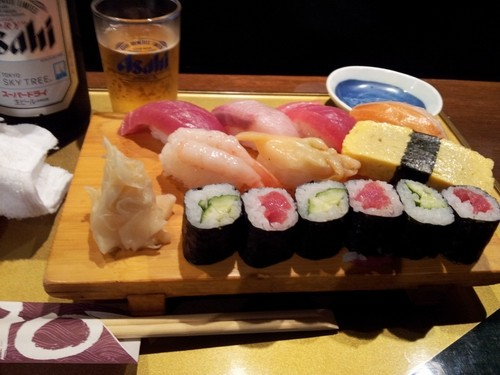 sushi vicino albergo