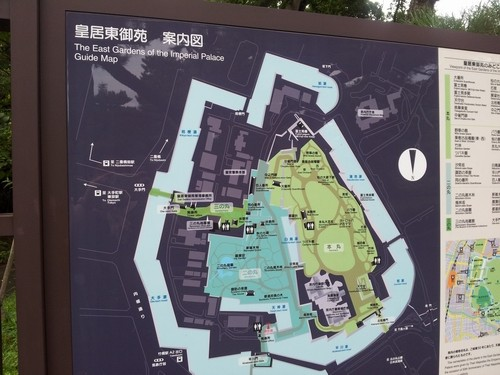 giardini imperiali piantina