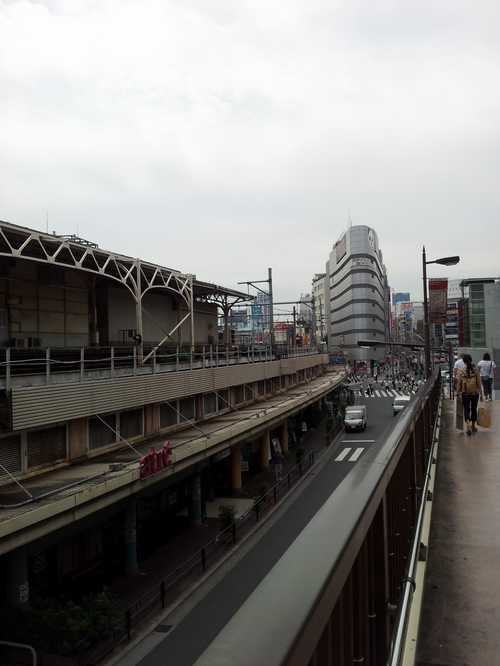 sulla via per Ueno Park