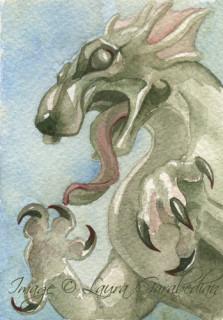 Gargoyle ACEO