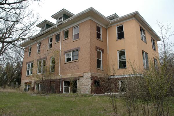 admin building exterior