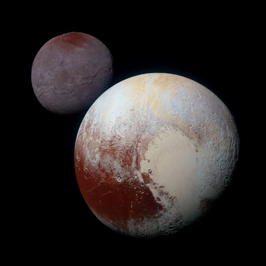 Pluto and Charon 1