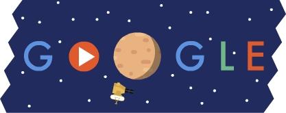 Google Doolde New Horizons