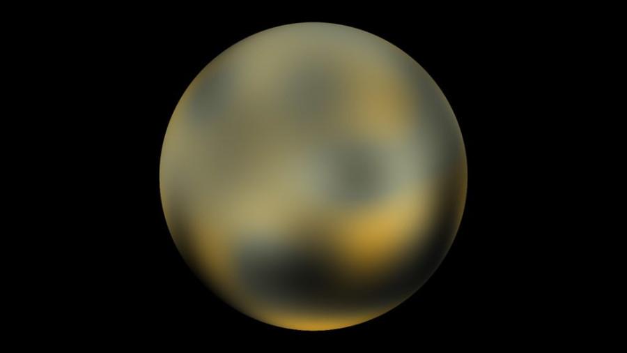 Pixelated Pluto