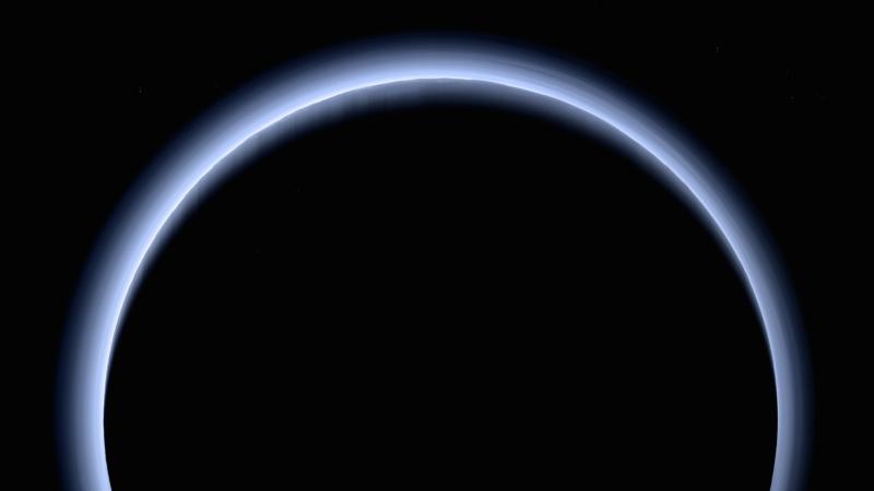 Pluto Backlit