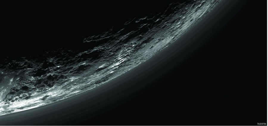 Pluto haze