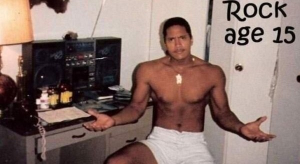 Photo-of-the-Day-Dwayne-The-Rock-Johnson-Was-Ripped-at-15-Too