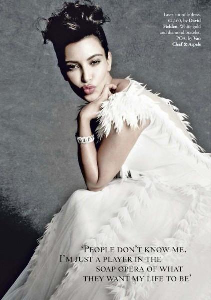 Kim Kardashian wedding dress Tatler UK