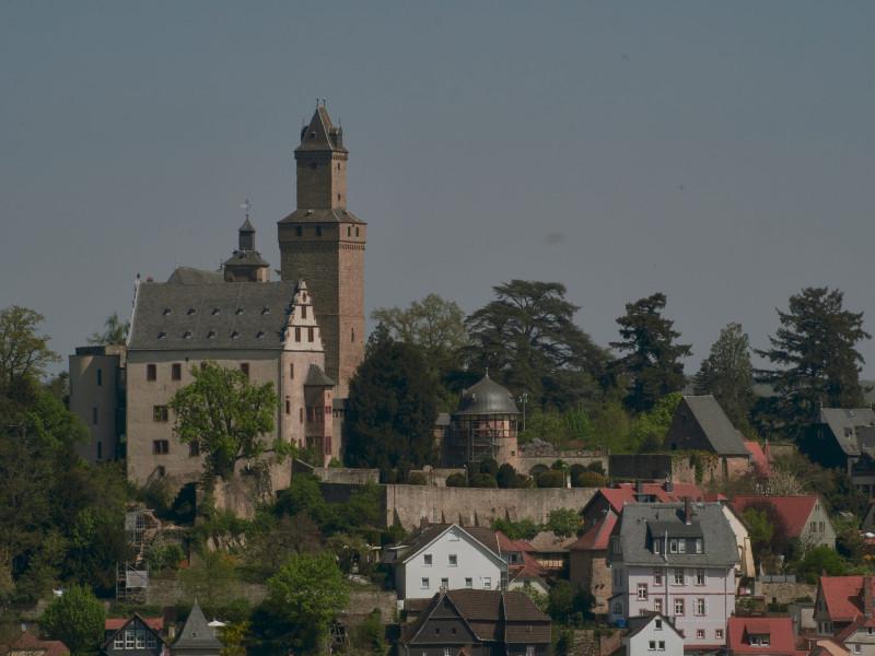 Nochmal die Burg Kronberg
