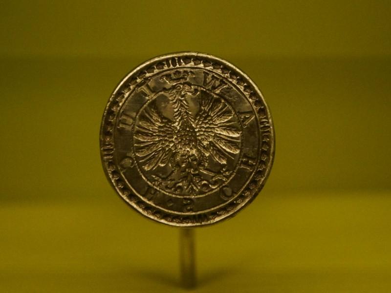 Positiv einer Münze zur Kaiserkrönung