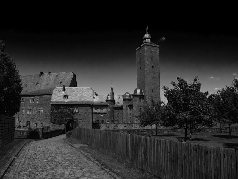 Die Renaissanceburg Steinau