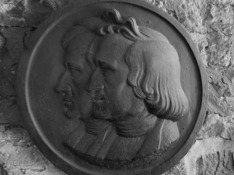 Dier Gebrüder Grimm verbrachten in Steinau a.d. Straße einen großen Teil ihrer Jugend