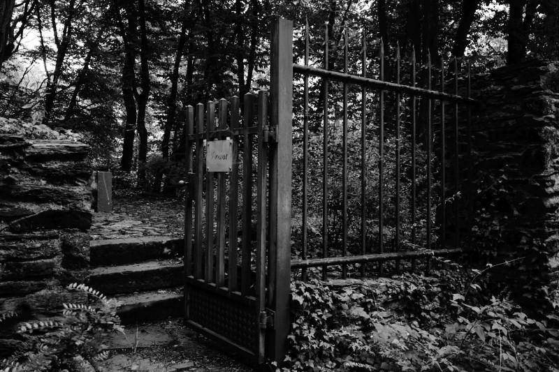 ... privat und betreten verboten