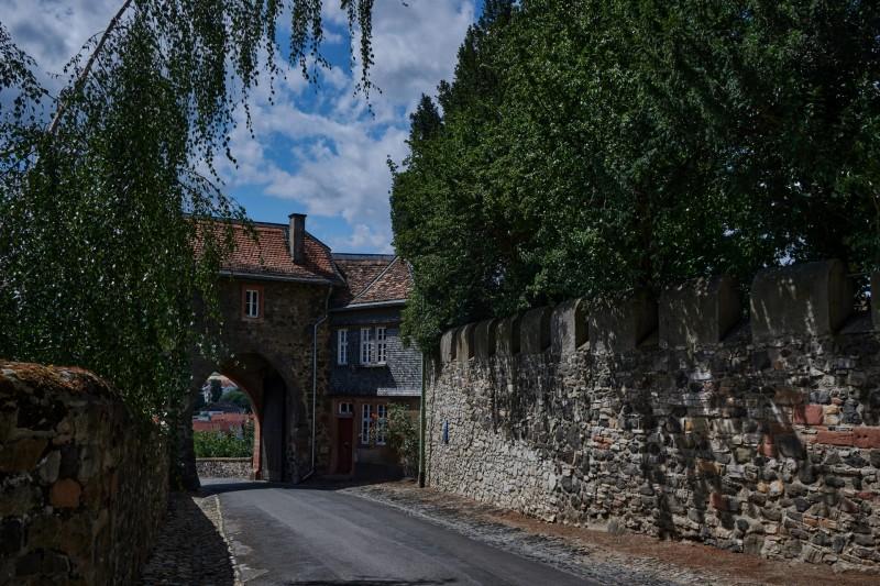 Ausgang der Burg
