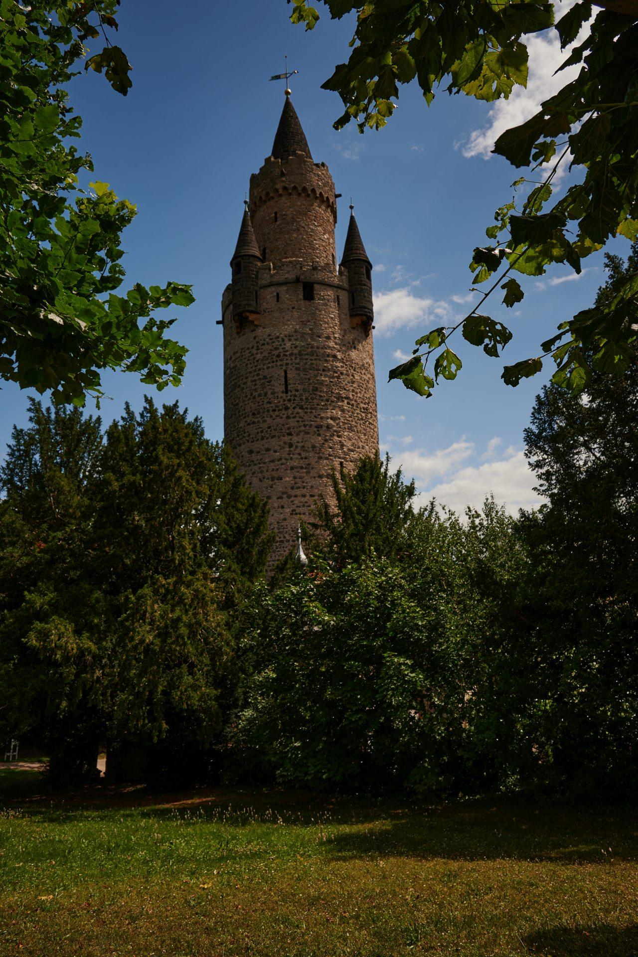 Adolfsturm vom Burggarten aus gesehen