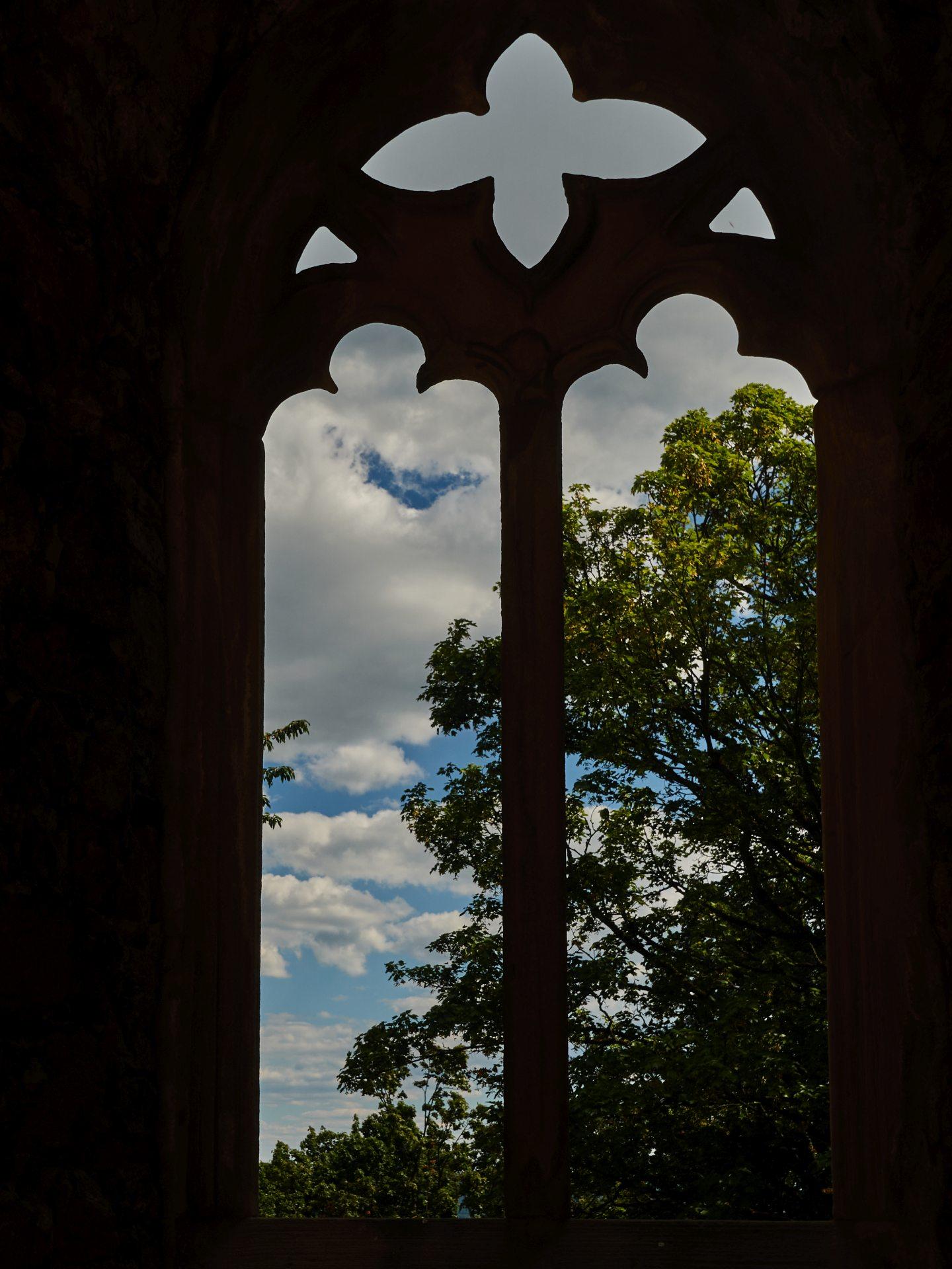 Fenster der Burgkapelle