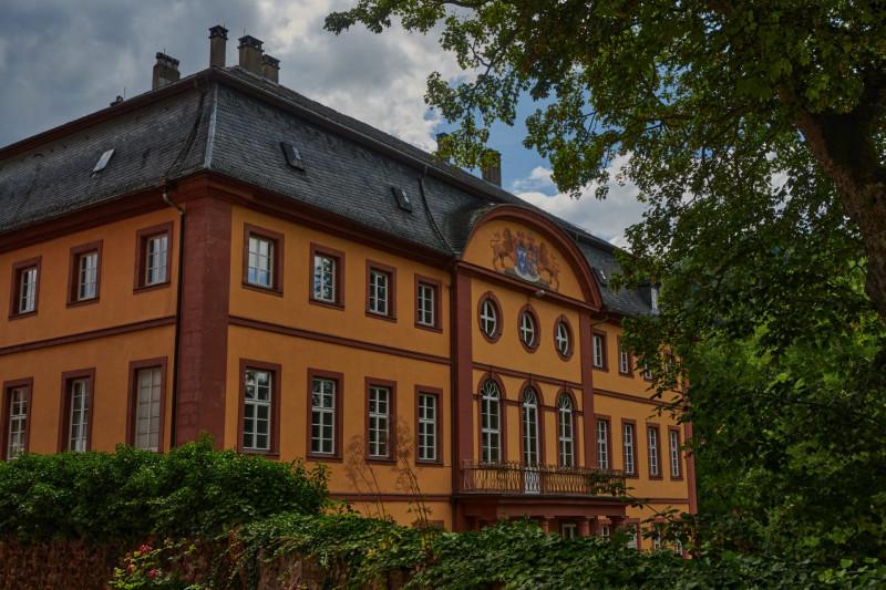 der kurmainzer Amtssitz (Fürstlich-Leiningensches Palais) ist in Privatbesitz und kann nicht besichtigt werden)