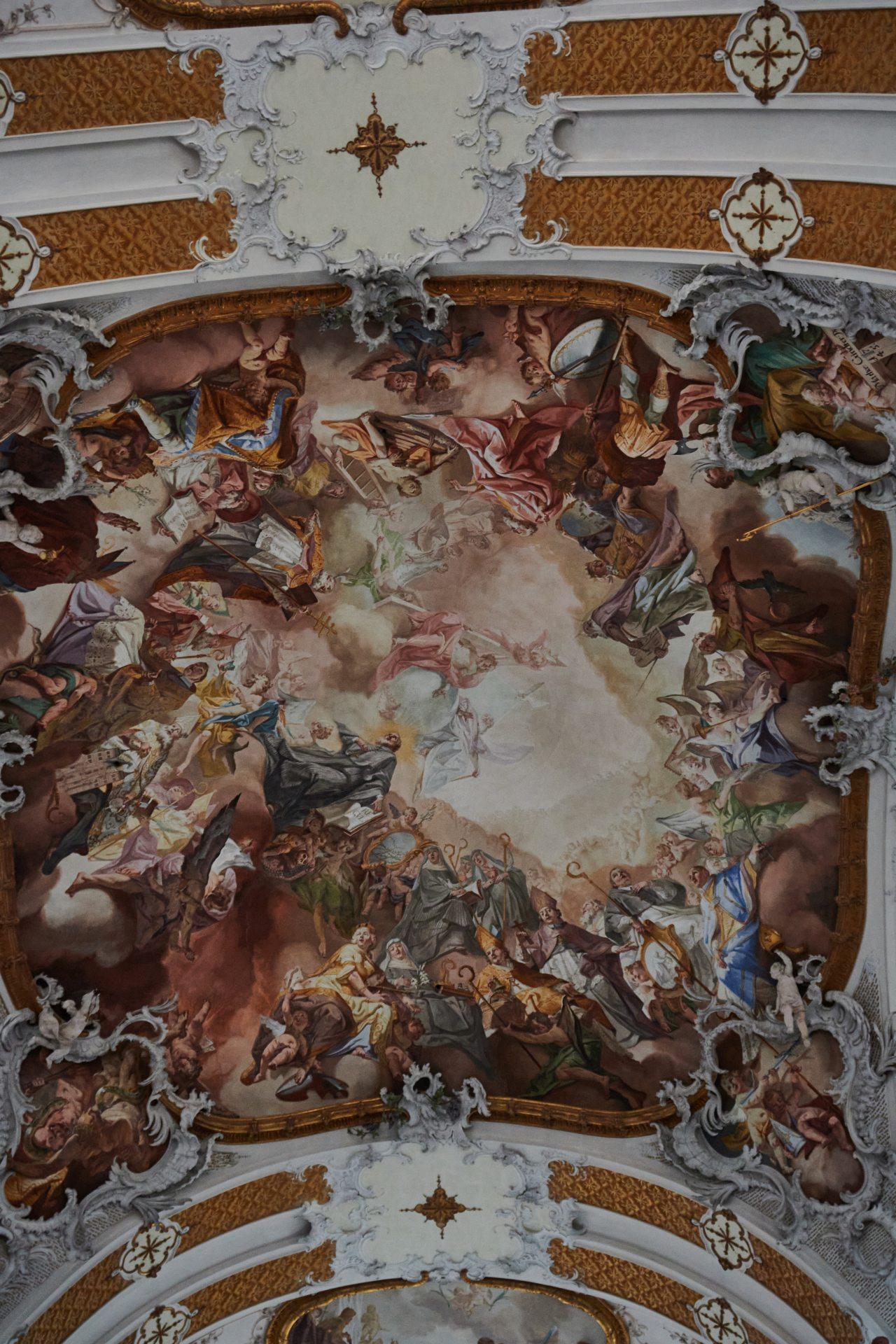 Eines der Fresken