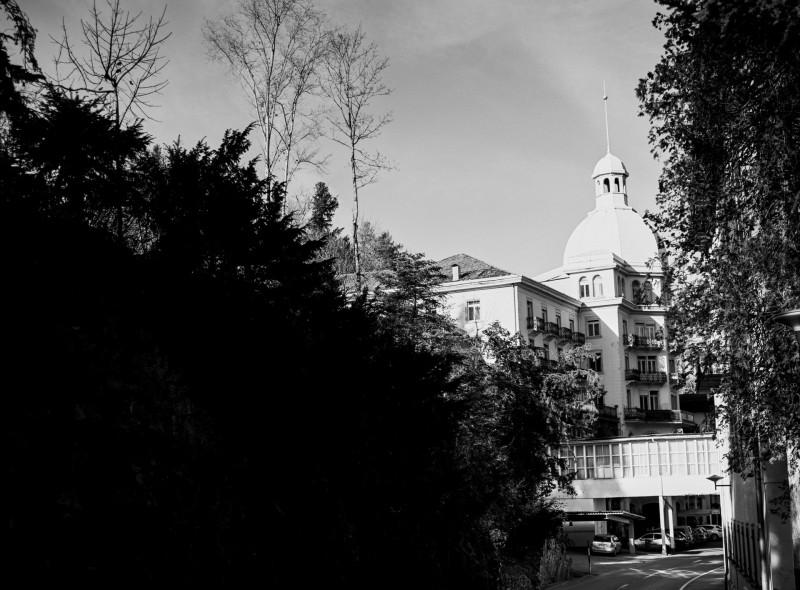 ehemaliges Grand Hotel in Selisberg