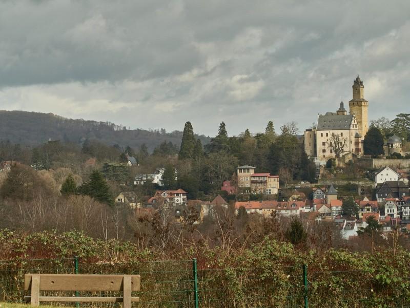 Burg Kronberg und das Städtchen Kronberg