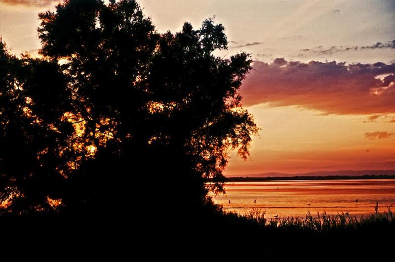 Ich mochte auch die Sonnenuntergänge, die ich abends an weitgehend menschenleeren Stränden fotographieren konnte