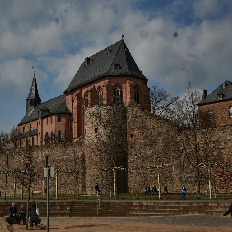 Eine der ältesten Kirchen in Deutschland (von 829)