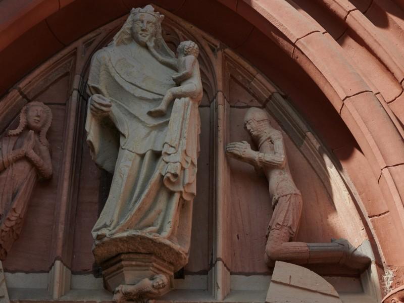 leider geschlossen — im 14.Jahrhundert wurde die Kirche gebaut und es hieß, sie sei sehr sehenswert