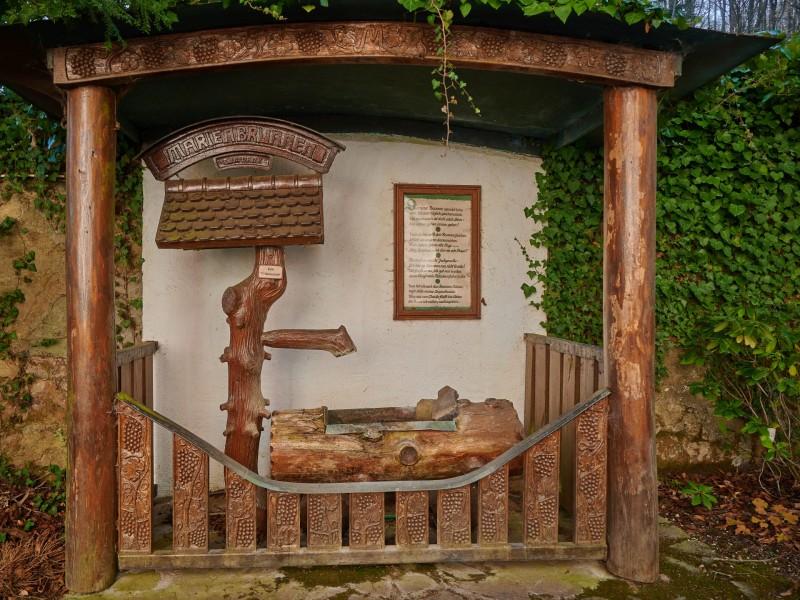 Klosterkirche Marienthal: Die Geschichte des Wallfahrtsortes begann laut Überlieferung im Jahr 1309 mit der wunderhaften Heilung des blinden Jägers Hecker Henn, der vor einem Marienbild im Wald gebetet hatte