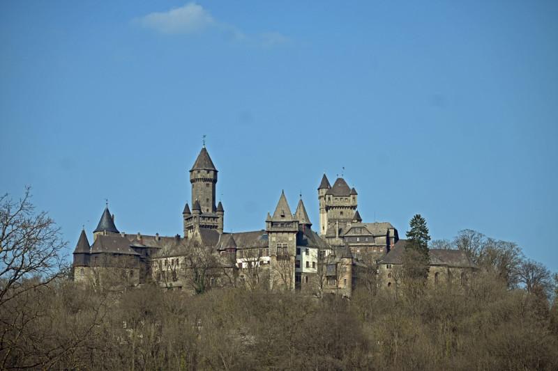 Die Burg ist heute noch Privatbesitz der Grafen zu Solms