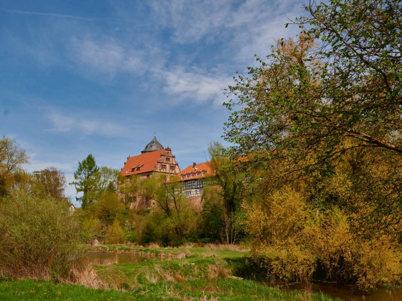 """Schlitz, die Burgenstadt und das """"Ziel"""" meines Ausflugs, ist gleich mit 5 Burgen bestückt"""