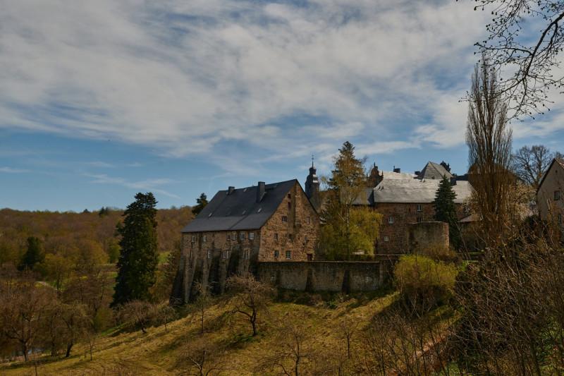 erster Stopp war Schloß Eisenbach (erstmals 1217 erwähnt und noch heute im Familienbesitz der Familie Riedesel)