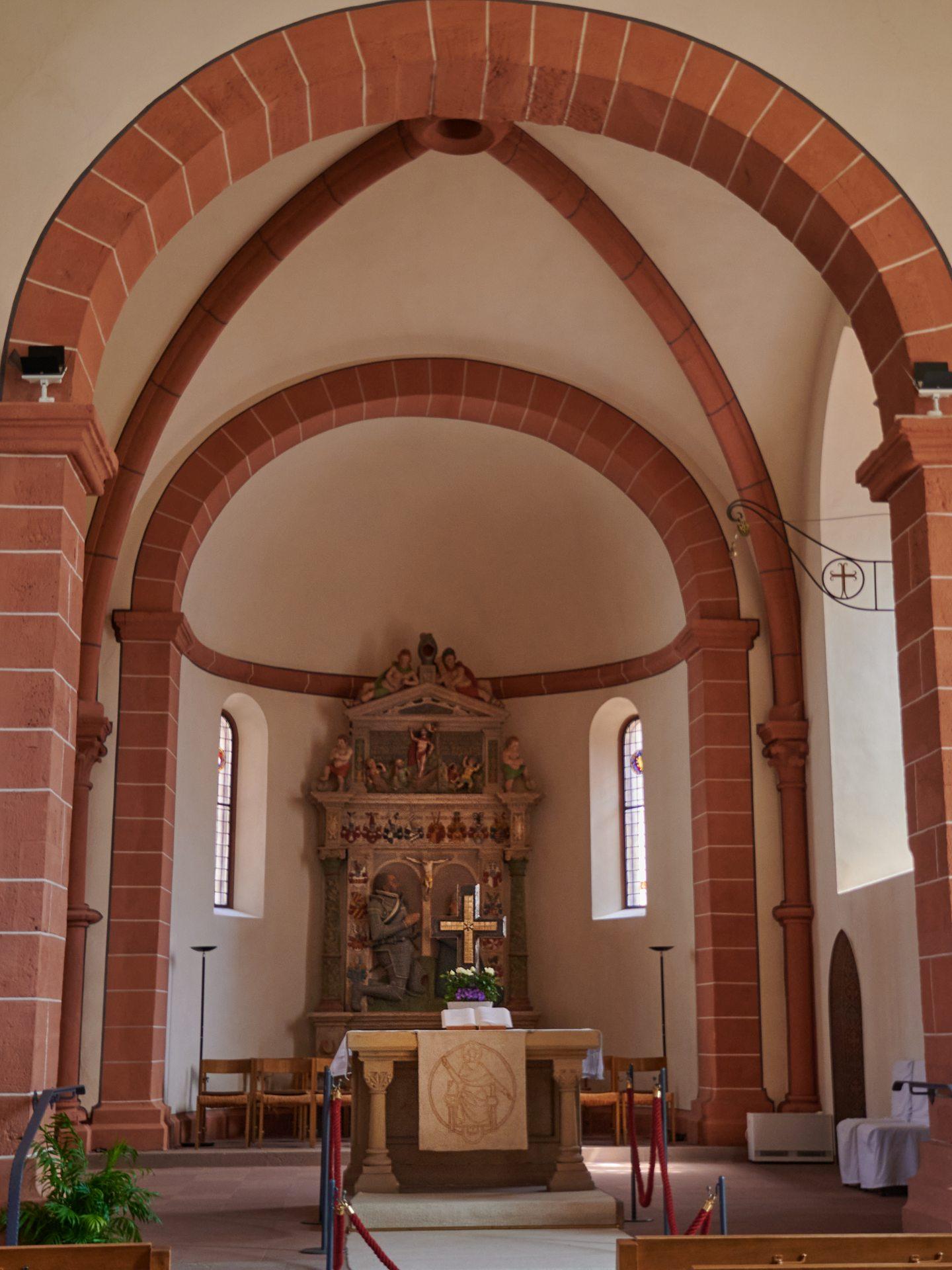 Im Inneren der Stadtkirche