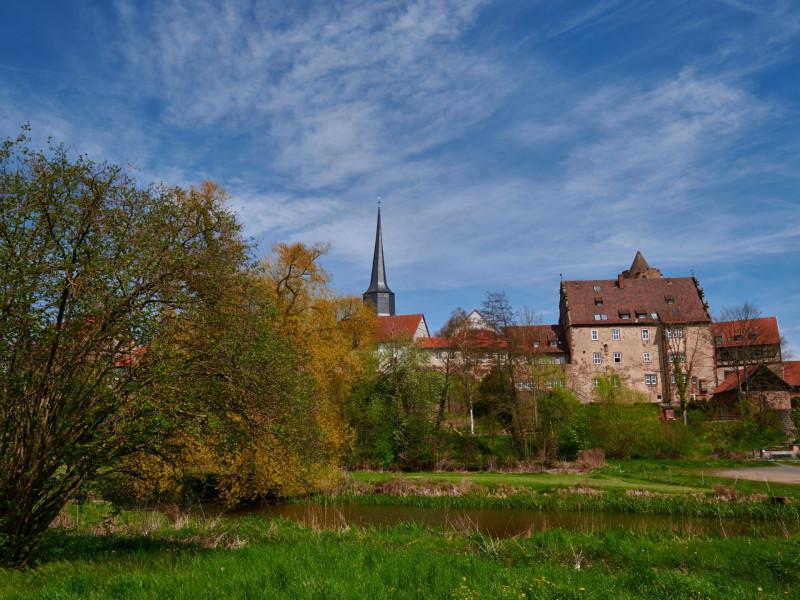 Burgenring — Hinterburg, Teile der Stadtmauer