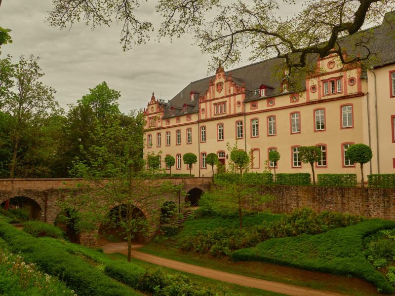 Das Schloß Friedberg in der Burg von 1604-1610