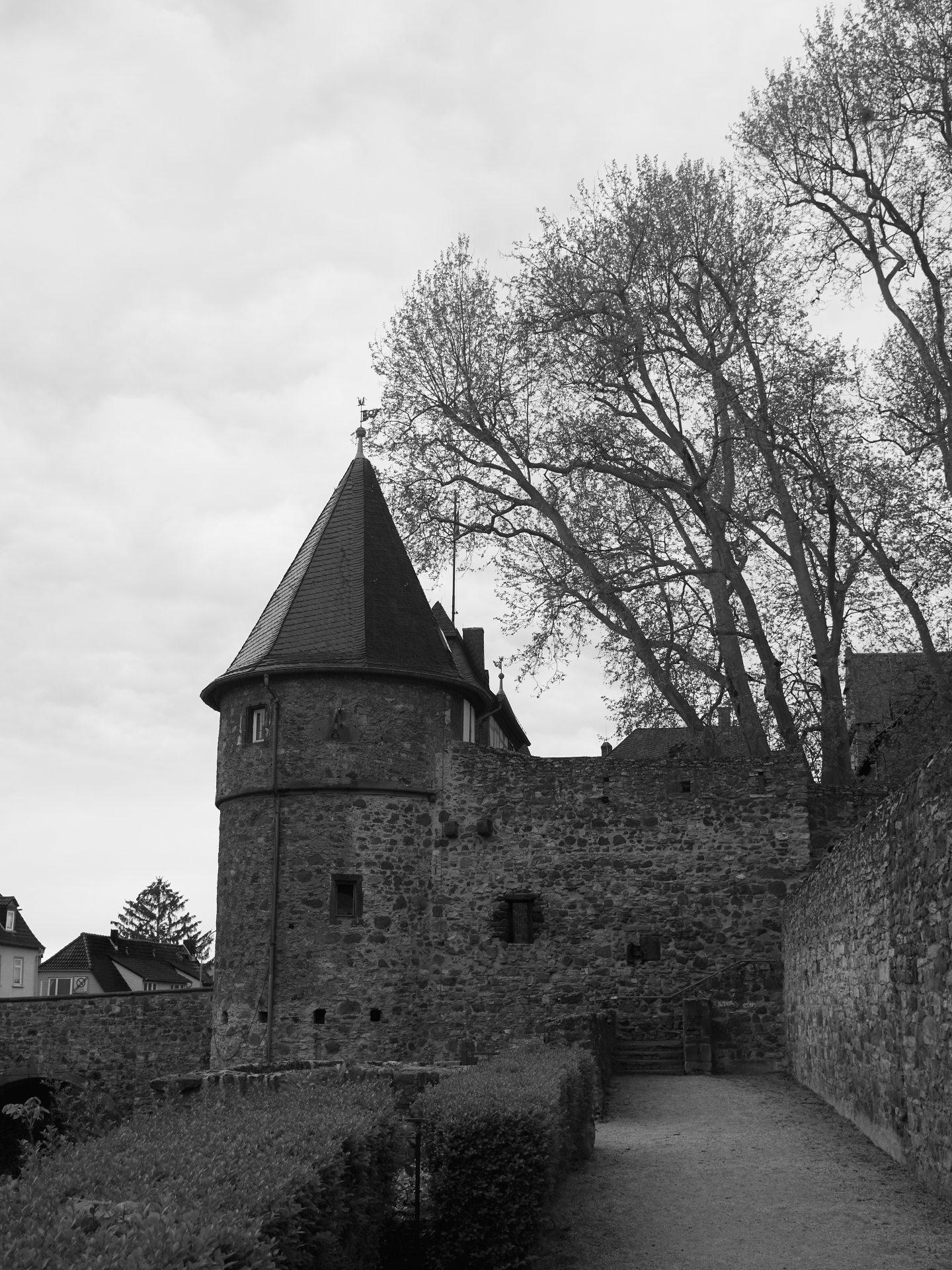 Eines der Burgtore (Südtor)