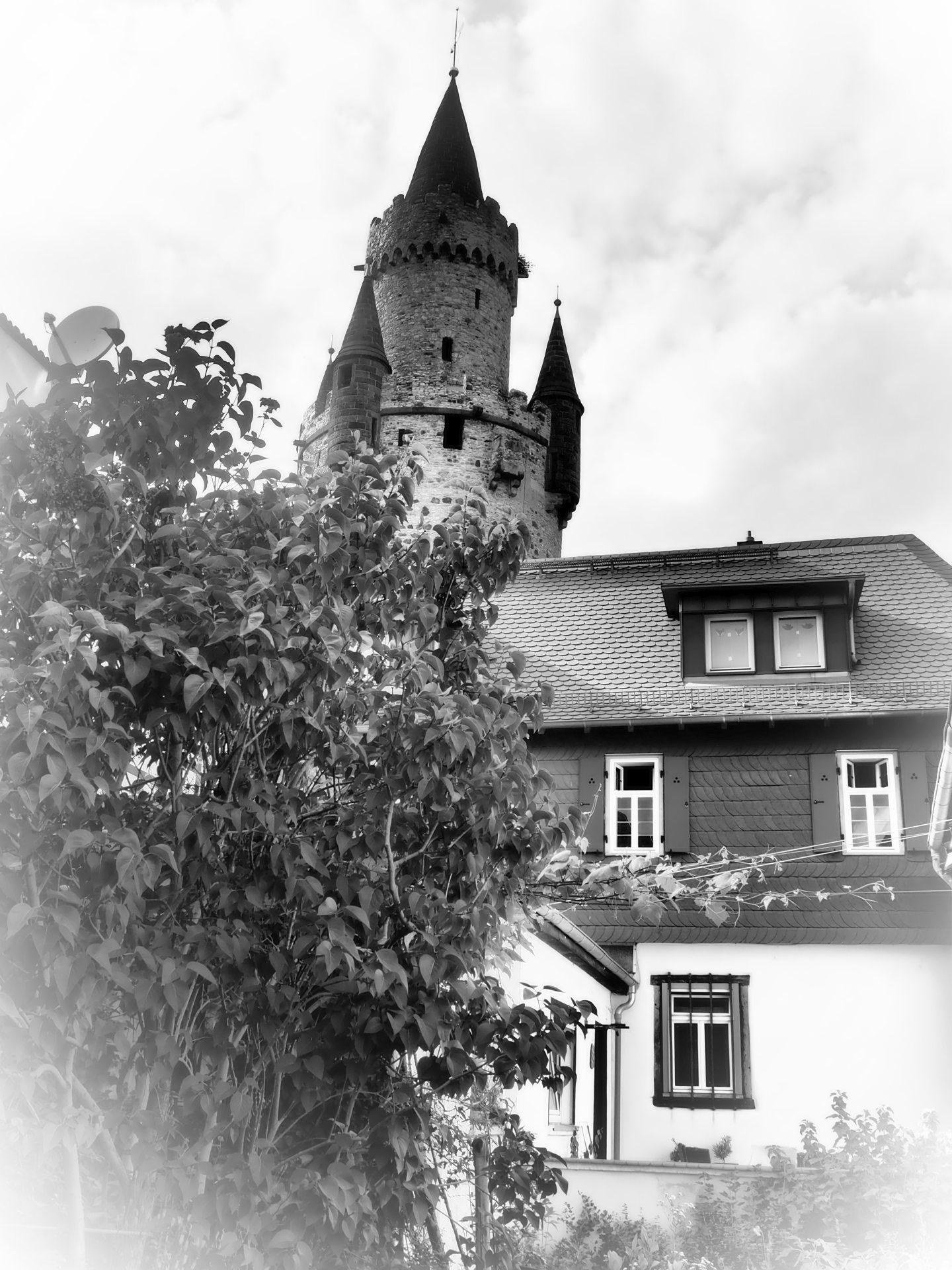 Der Adolfsturm aus der Mitte des 14.Jahrhunderts