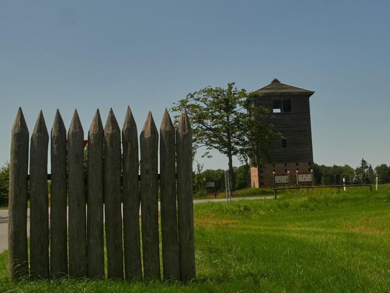 Römischer Wachturm (ca. 155) bei Michelstadt am Limes