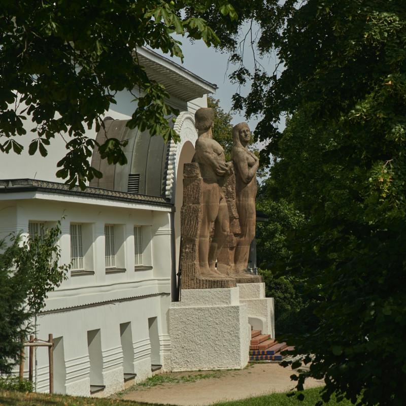 Portal des Ernst-Ludwig-Hauses