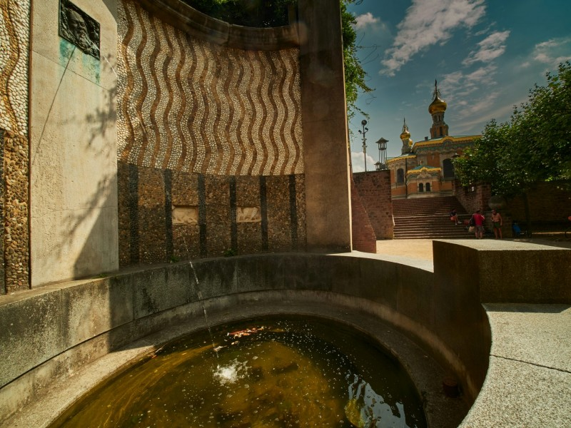 Der Bacchusbrunnen