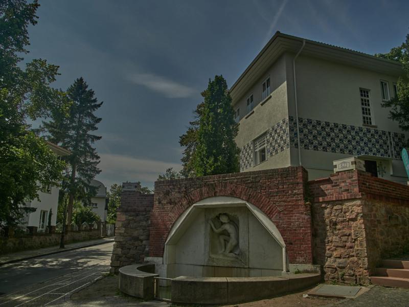 Haus Olbrich, welches bis 2016 vom Deutschen Polen-Institut benutzt wurde