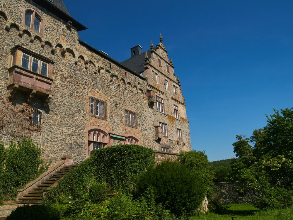 Südseite der Burg