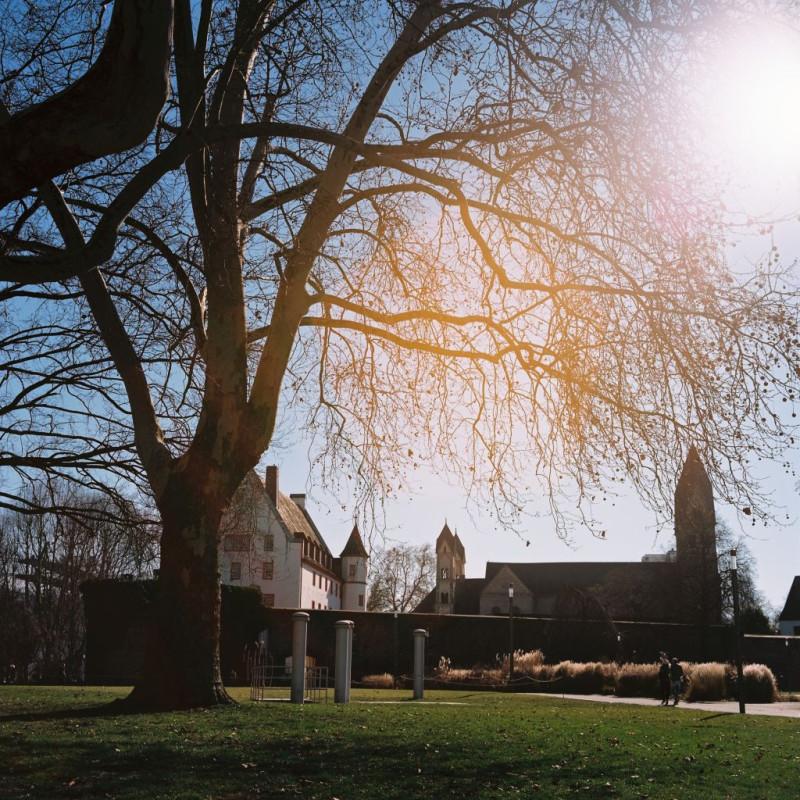 Deutschherrenhaus und Kastorkirche