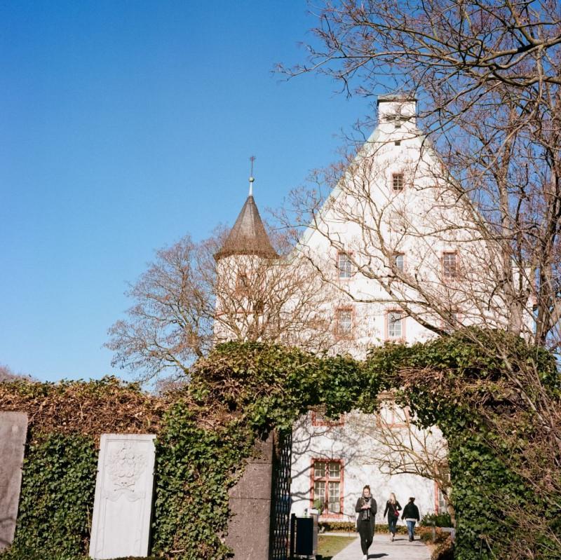 Blick von der Kastorkirche Richtung Deutschherrenhaus